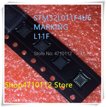 NEW 10PCS/LOT STM32L011F4U6 STM32L011 MARKING L11F UFQFPN-20 IC