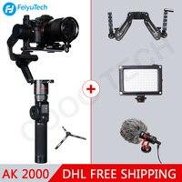 FeiyuTech Feiyu AK2000 3 оси Бесщеточный Ручной Камера стабилизатор Gimbal для sony canon 5d 6d Mark Panasonic GH5 Nikon D850