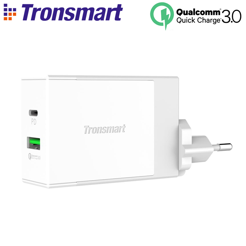 Tronsmart W2DT USB PD Charger USB Type C Power Delivery Quick Charge 3 0 for Xiaomi