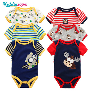 Image 5 - Newborn Boy Photography Props New Baby Girl Clothes Cotton Baby Bodysuits bebe Boy Clothes Body for Infants 6PCS/lot New 0 1Year