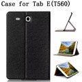 Оригинальное качество чехол для Samsung galaxy Tab E ( T560 T561 T565 ) чехол с подставкой флип для Samsung T560 чехол, Артикул 013FB14