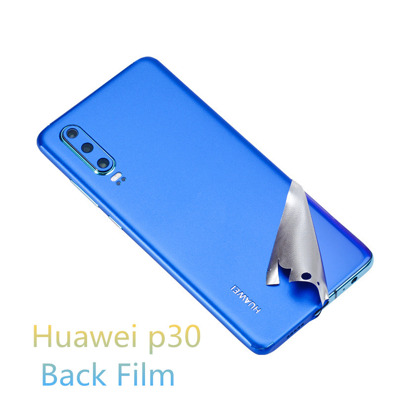 Fashion High Quality Mobile Phone Back Film Protector Anti-Scratch For HuaweiP30 P30pro Ultra-thin Protective Film