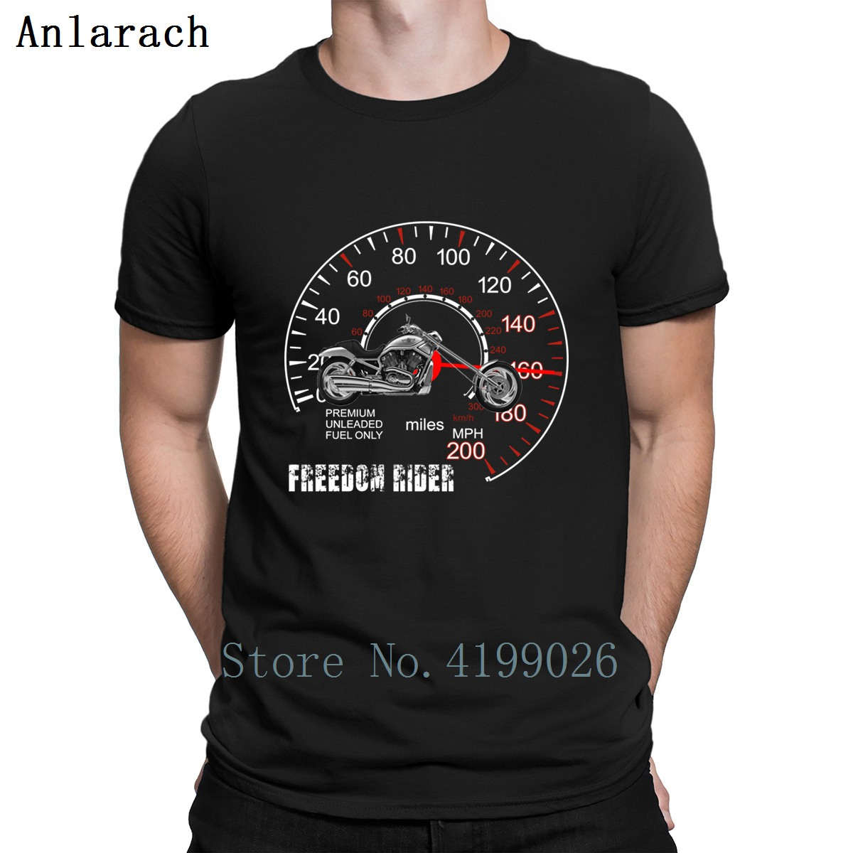 Freedom Rider Motorcycle Chopper 2 White T Shirt Top Quality Personality O-Neck Funny T Shirts Outfit Spring Casual Male