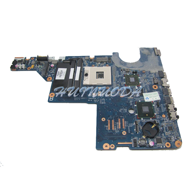 DAOAX1MB6F0 595183-001 Laptop motherboard For Hp Compaq G62 CQ62 Intel hm55 ddr3 DA0AX1MB6H0 Main board full tested laptop motherboard 605903 001 fit for hp g62 cq62 notebook pc mainboard ddr3