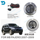 pajero v97 v93 full set fog lamp with bulb wire switch accessories Harness v93 different fog lamp ask if you don't know