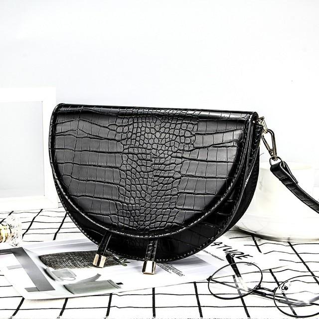 Crocodile Pattern Crossbody Bags  2