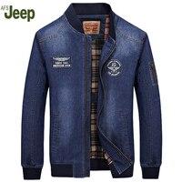 2016 New Winter Men S Denim Jacket AFS JEEP Casual Large Size Loose Jacket Stylish Comfort