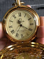 Rare Old Qing Dynasty royal clock \ mechanical watch,Flower,can work, Gold watch ,free shipping