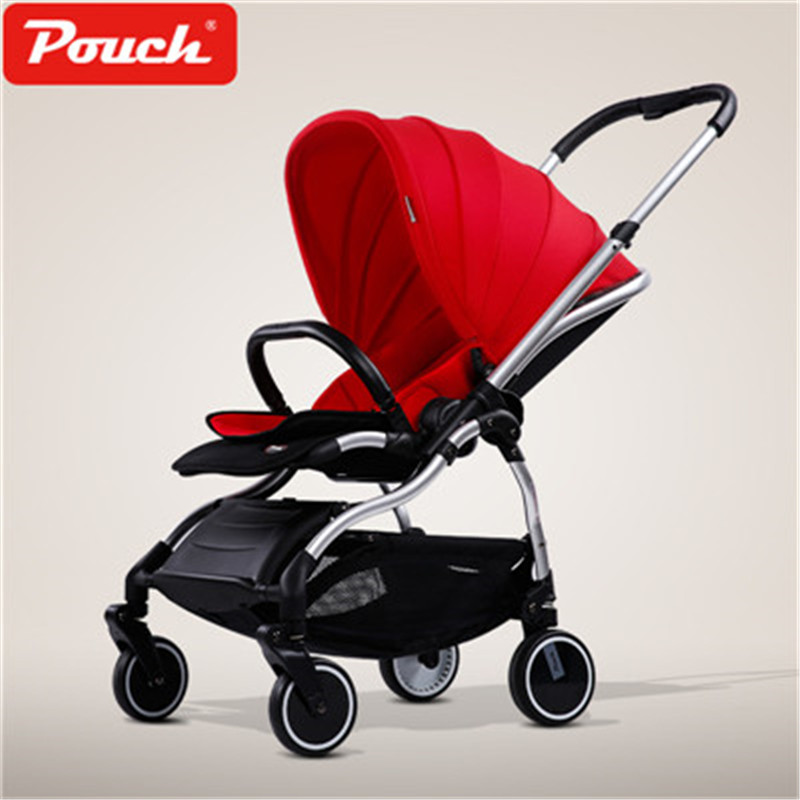 Pouch Baby Stroller Ultra Light Two Way Push Carts Portable Umbrella Car Foldable Baby Carriage 2017 top fashion direct selling stroller dsland pouch light baby stroller child umbrella car folding portable two way bb