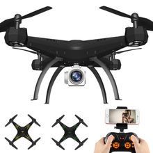 Large Drone WIFI Remote Control Quadcopter Headless Model HD Wide-angle Camera Voice Control S7JN