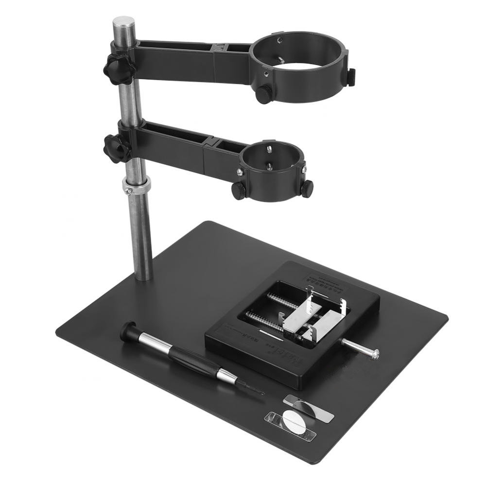 1Set Hot Air Gun Clamp Stand Repair Platform for BGA Rework Reballing Station Hot Air Heat Gun Bracket Holder Hot Sale Wholesale hot air gun clamp holder for mobile phone repair platform bga rework tool f 204