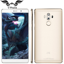 Original ZTE Axon 7 Max 4G LTE Hi-Fi Mobile Phone Snapdragon 625 6.0″ 4GB RAM 64GB ROM 1920*1080 FHD Dual Rear 13MP Fingerprint