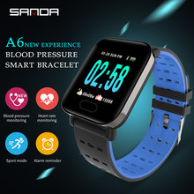 Sanda Smart Watch IP67 Tahan Air Bluetooth Heart Rate Monitor Tekanan Darah Smartwatch untuk Xiao Mi Android IOS Pria Wanita Jam(China)