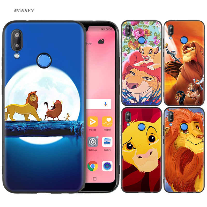 Silicone Case Cover for Huawei P30 P20 P10 P9 Lite Pro P Smart 2019 Phone Cases Hakuna Matata Lion King