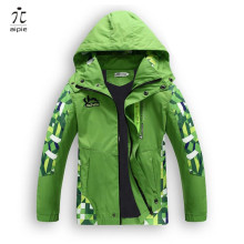 aipie 1pcs Children Boy's Jackets Coats Kids Active clothing Double-deck Waterproof Windproof Boys outwears