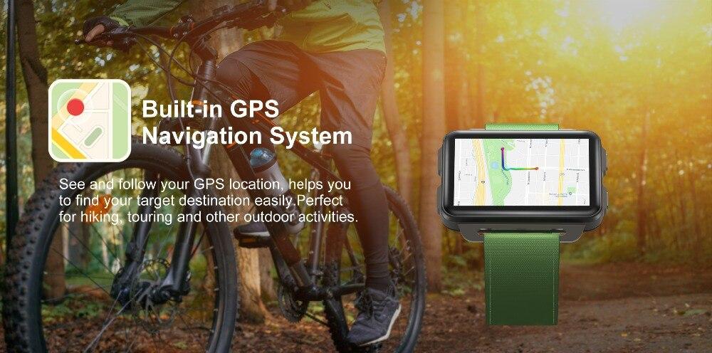 Torntisc DM99 Android Smart Watch Phone 1GB 16GB Big Screen 1200 Mah Battery 130W Camera Support GPS WiFi Nano SIM card MP4 Take Video 3G Smartwatch (2)