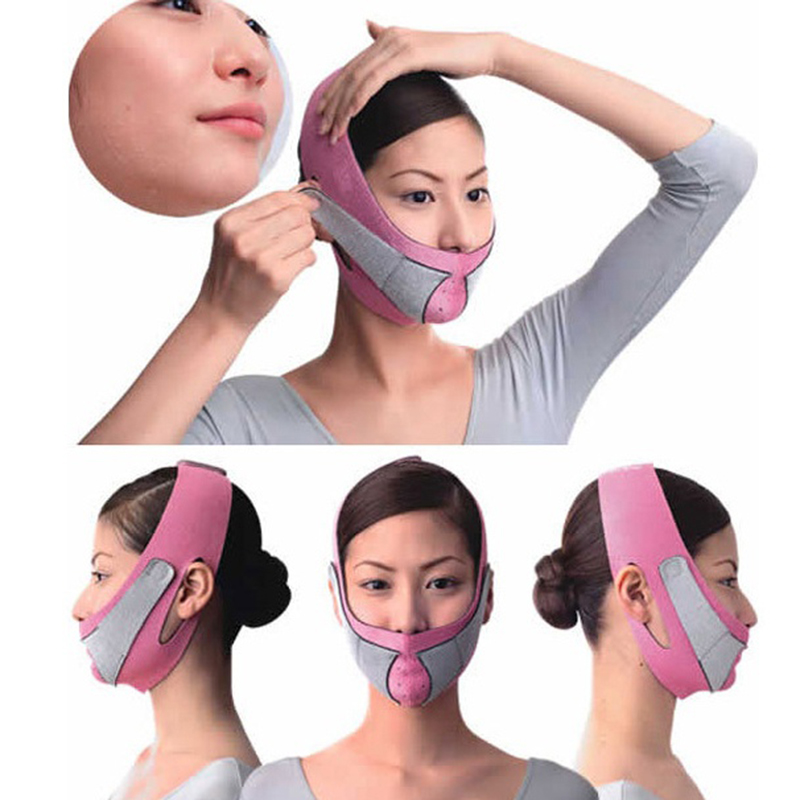 Face Lift Tools Thin Facial Mask Face Massager Slimming Facial Thin Facial Bandage Belt Anti Cellulite Face Care Beauty Massage