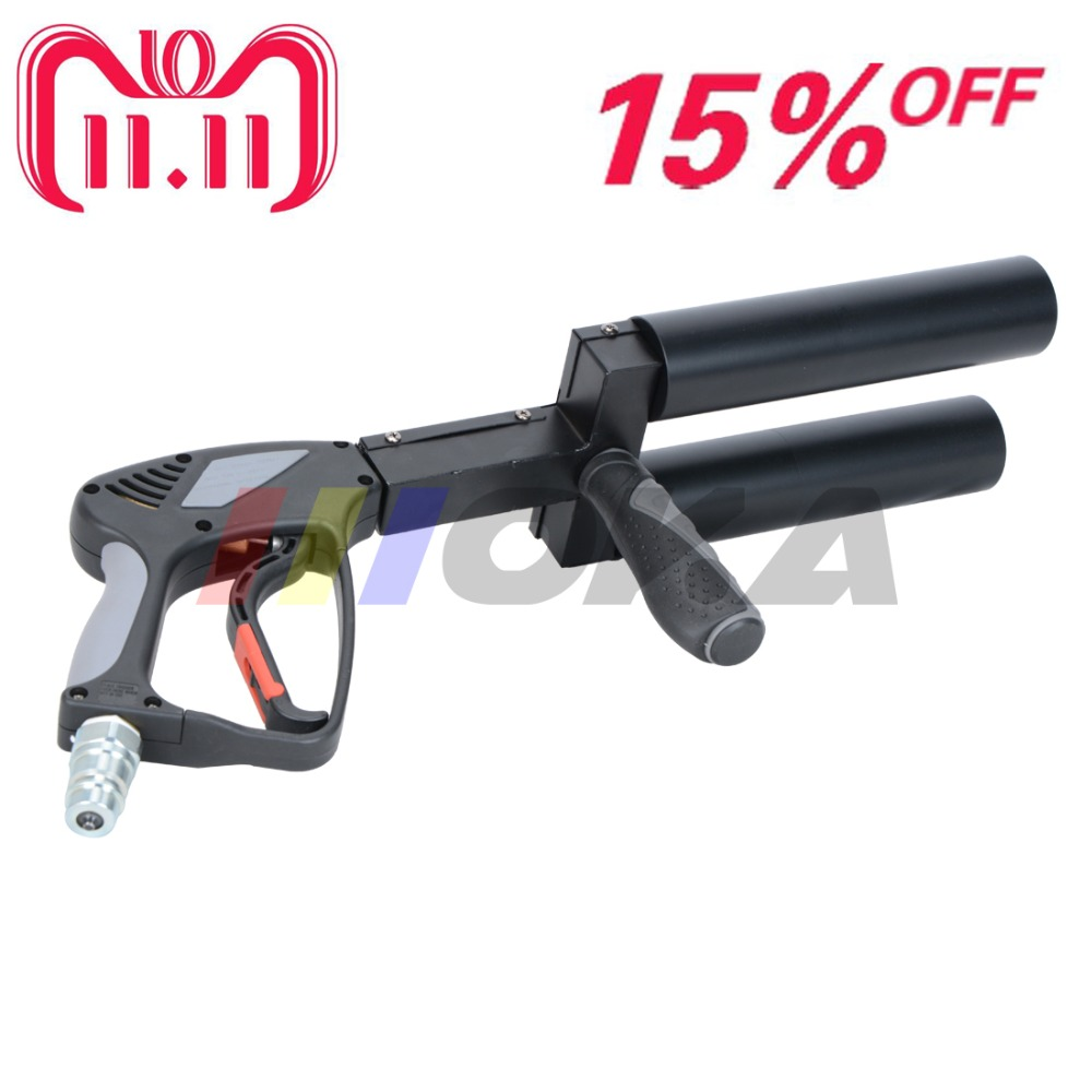 New Handhold CO2 DJ gun pistol CO2 jet Machine stage effect machine 3m high quality gas hose for stage dj show disco night club 200w co2 jet machine with 6m gas hose dmx control for party disco dj event show