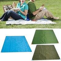 New 200X220cm Waterproof Outdoor Camping Picnic Beach Mat Camping Tarpaulin Baby Play Mat Plaid Blanket Baby Climb Blanket