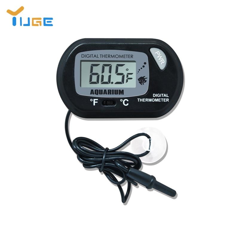 Digital LCD Screen Sensor Aquarium Water Thermometer Controller Wired Fish Tank Accessories Aquarium Thermometer Accessories
