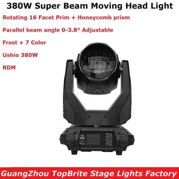 1Pcs Super Beam 380W Moving Head Beam Spot 380W Lier Moving Head Licht Voor Fase Licht theater Disco Nachtclub Party Licht