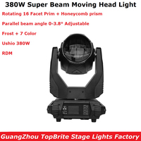 1Pcs Super Beam 380W Moving Head Light Beam Spot 380W Lyre Moving Head Light For Stage Light Theater Disco Nightclub Party Light
