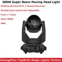 1Pcs Super Beam 380W Moving Head Light Beam Spot 380W Lyre Moving Head Light For Stage Light Theater Disco Nightclub Party Light