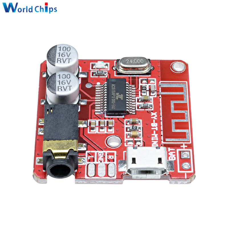 MP3 Bluetooth Decoder Board Lossless Car Speaker Audio Amplifier Board Modified Bluetooth 4.1 Circuit Stereo Receiver Module 5V