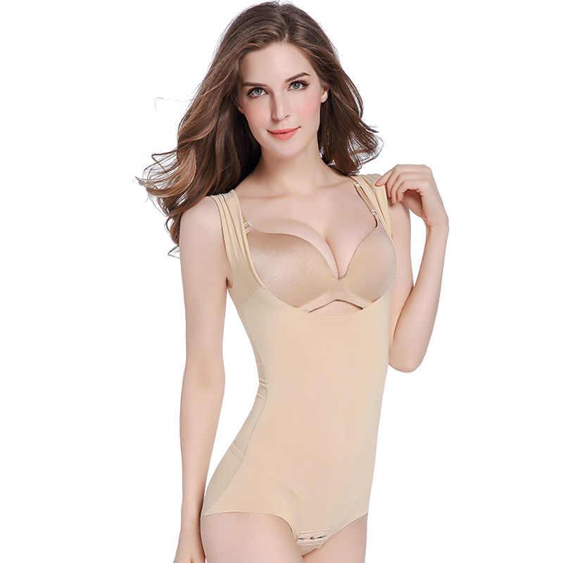 Боди для похудения, Женский тренажер для талии, цельное Корректирующее белье, корсет, Корректирующее белье, моделирующее нижнее белье, трусы
