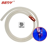 1 8m Automatic Water Jiggler Liquid Transfer Self Priming Shake Siphon Hose Pump