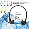 Natación Impermeable Reproductor de MP3 Del Deporte Reproductor de Música Auriculares de Conducción Ósea Auriculares 8 GB IPX68 de Mp3 Bajo El Agua 10 m Para El Nadador