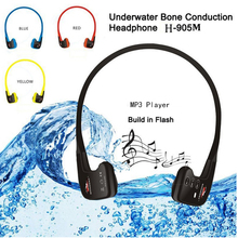 Swimming Waterproof MP3 Player Sport Music Headset Player Bone Conduction Headphone 8GB Underwater Mp3 IPX68 10m
