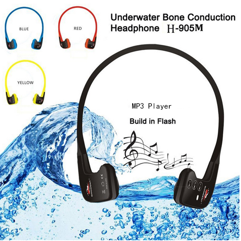 Swimming Waterproof font b MP3 b font font b Player b font Sport Music Headset font