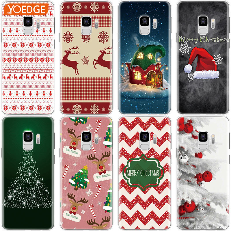 9fb892bbfbd Christmas Case For Iphone X Xs Max XR 5S 6S 7 8 Plus For Samsung Galaxy ...