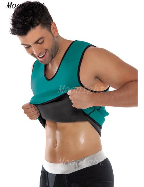 MOONIGHT 2017 Mens Correas De Neopreno cintura corsé Cuerpo pérdida de peso de la cintura cincher corsés de cintura trainer