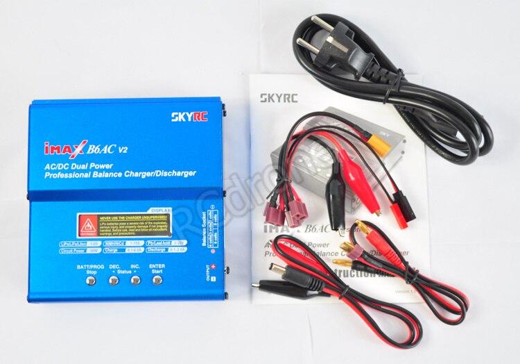 Chargeur d'équilibre numérique Original iMax B6AC V2 SKYRC affichage LCD chargeur intelligent de batterie Lipo NiMh 3 S