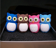 New 100% real capacity owl USB Flash Drive 2.0 8GB 16GB 32GB 64GB 128GB Shaped Memory Stick