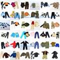 5 conjuntos boneca Outfit Plug uniforme bola terno / combate uniforme / lazer roupas acessórios para Barbie Boy Ken boneca