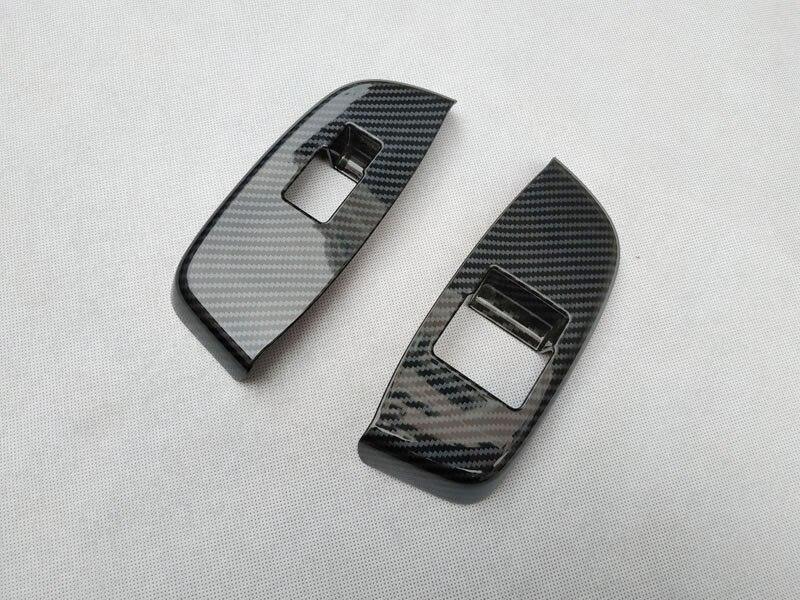 For NISSAN NV200 Evalia 2010 2018  interior Door handle Armrest Cover Sticker trim chrome car accessories (8)