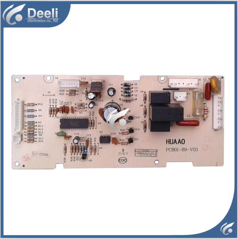 95% new Original for refrigerator computer motherboard BDG23-174 PCB01-89-V03 refrigerator accessories 95% new used for refrigerator computer board pcb01 20 v01 pcb01 20 v02 bdg23 95