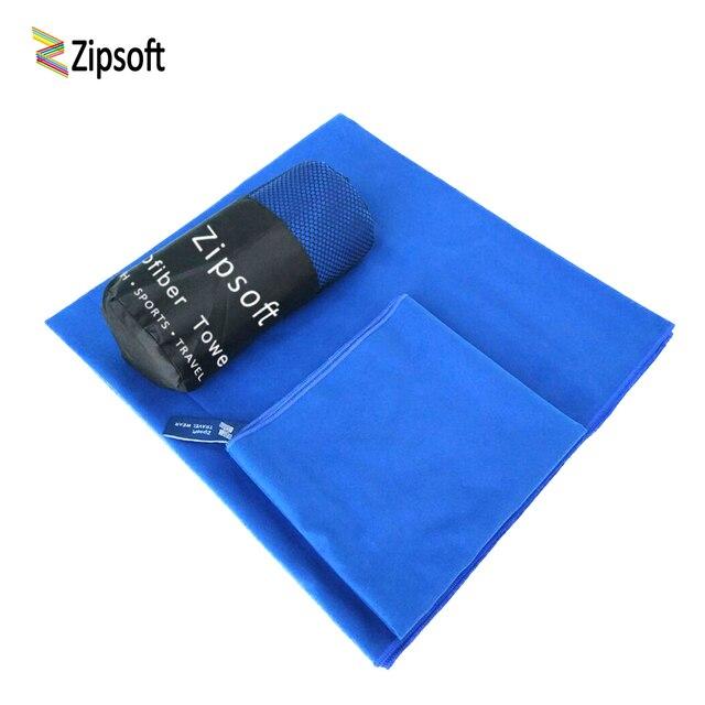 3 Pz/pacco Zipsoft Microfibra Spiaggia di Nuoto asciugamano Asciugamani Da Bagno