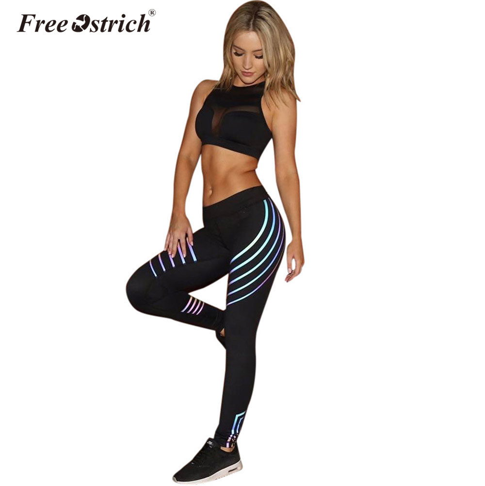to buy thoughts on colours and striking US $2.66 45% OFF|Aliexpress.com : Buy Free Ostrich Pants Leggings Women  Block Autumn Winter Workout Pants Insert Casual Fitness Leggings Stripe ...