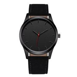 Reloj 2018 модные большие военные кварцевые мужские часы, кожаные спортивные часы, высококачественные наручные часы, Relogio Masculino T4