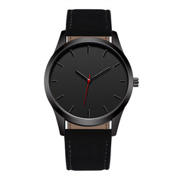Reloj 2018 Mode Große Zifferblatt Militär Quarz Herrenuhr Leder Sport uhren Hohe Qualität Uhr Armbanduhr Relogio Masculino T4
