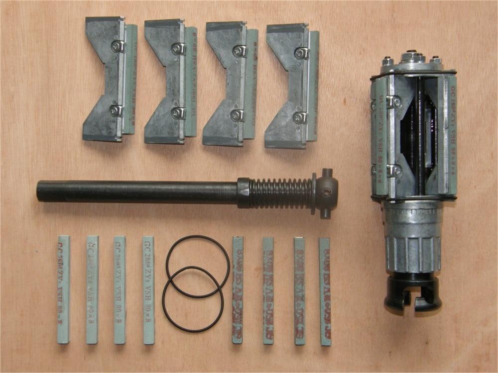 Professionaalsed tööpingid sügava auguga silindrist sarvtööriist pea abrasiivtöötlusvahendid Kahekordse liivaga lihvimiskett (48–80 mm)