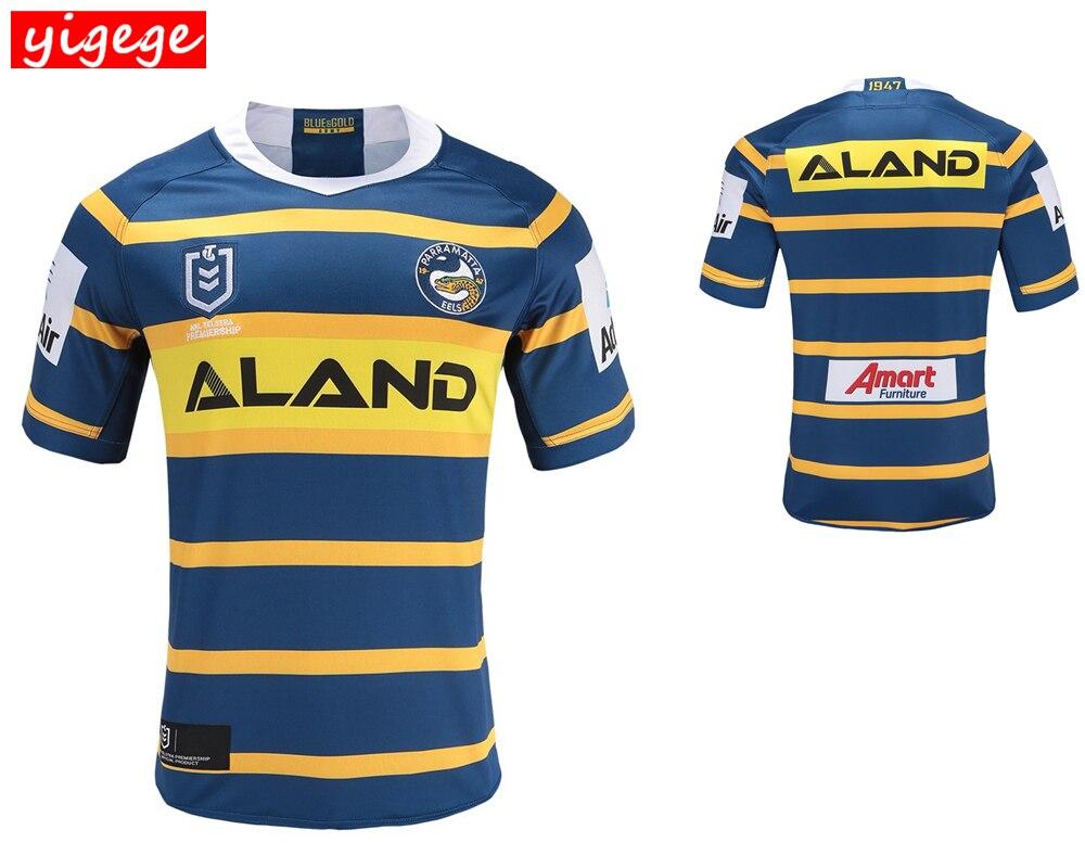 6b4845e30b7 nrl jersey Parramatta Eels 2019 home away rugby Jerseys League rugby shirt  Parramatta Eels shirts s