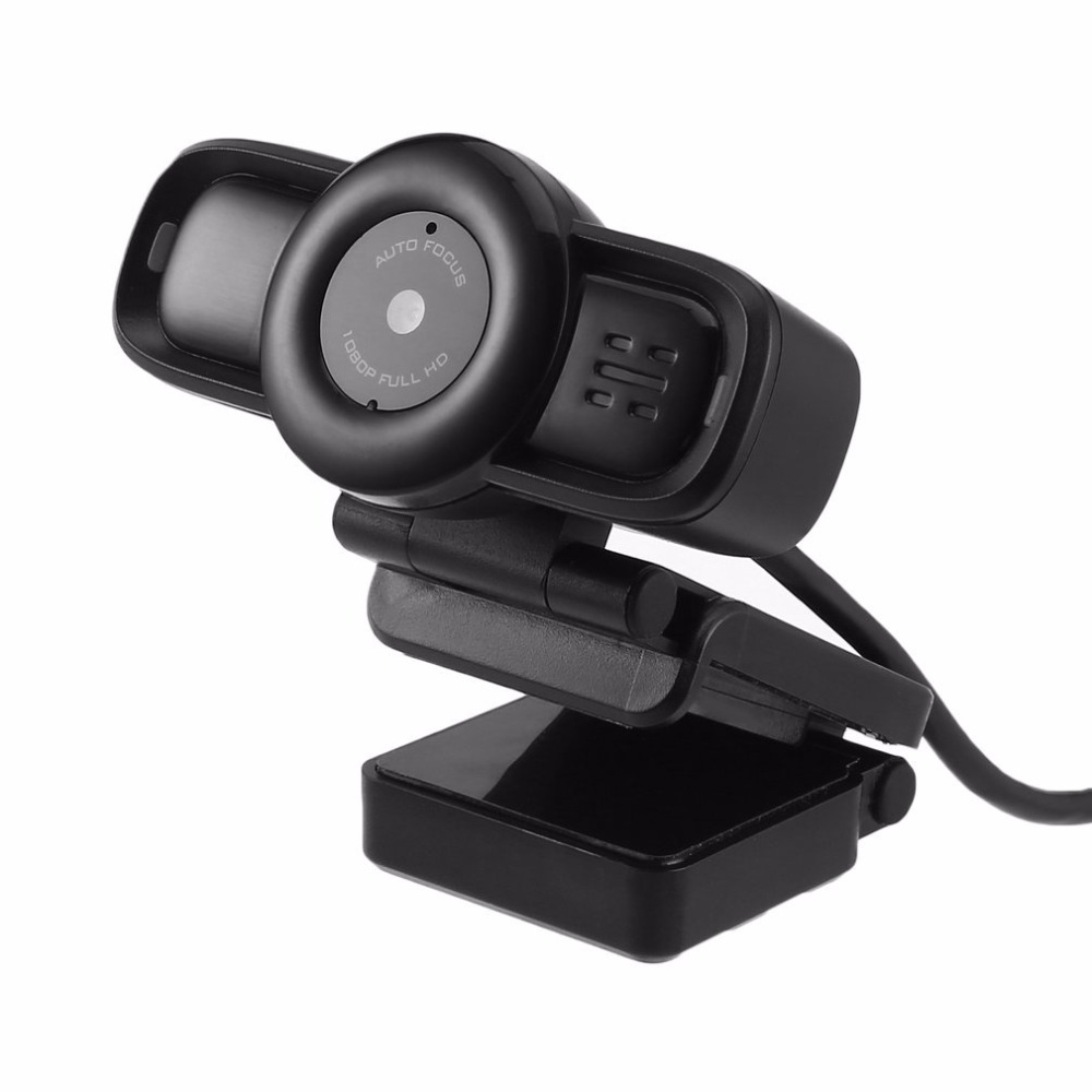 Auto Focus Webcam HD 1080P Digital Computer Camera with Built-in Noise Cancelling Microphone for Computer USB Plug a7230 pc webcam usb 360° rotatable computer camera with built in mic