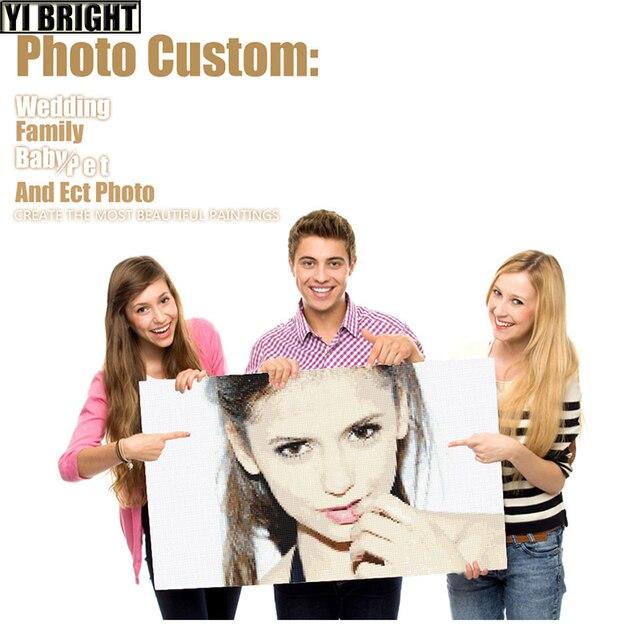 Custom Photo! Full Square/Round Drill 5D DIY Diamond Painting Personal Custom Cross Stitch 3D Mosaic Embroidery Decor Christ GT