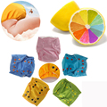 Супер Новорожденных Подгузники Моющиеся Подгузники Ватки Оставаться Сухим Внутренний Многоразовые Детские Подгузники для 3KGS до 6KGS
