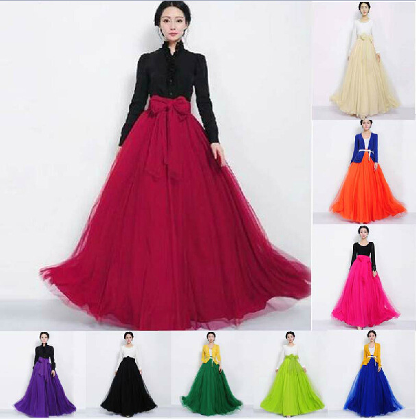 Popular Full Long Skirts-Buy Cheap Full Long Skirts lots from ...